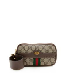Gucci GG Supreme Ophidia Phone Case Belt Bag - Size 30 / 75