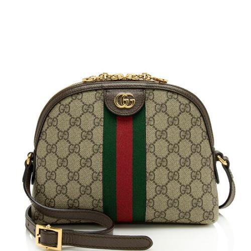 Gucci GG Supreme Ophidia Small Dome Shoulder Bag
