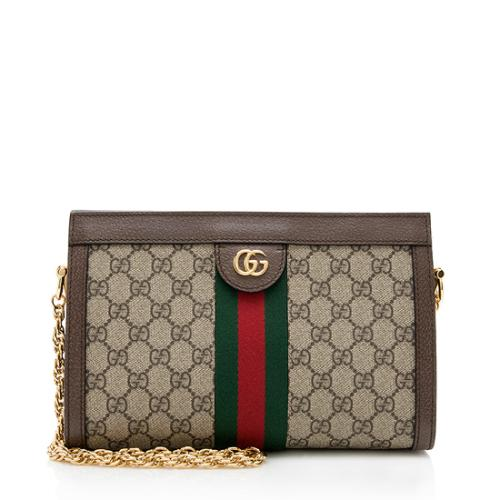 Gucci GG Supreme Ophidia Small Chain Shoulder Bag