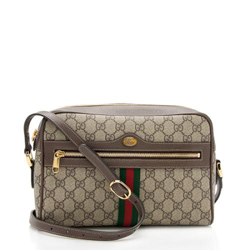 37ac0f1daf2d Gucci GG Supreme Ophidia Small Shoulder Bag