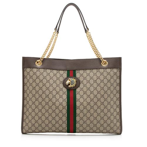 Gucci GG Supreme Rajah Large Tote