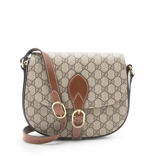 Gucci GG Supreme Saddle Bag