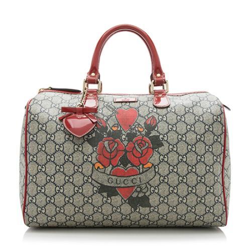Gucci GG Tattoo Joy Medium Boston Bag