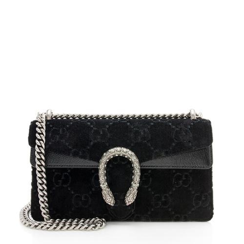 Gucci GG Velvet Small Dionysus Shoulder Bag