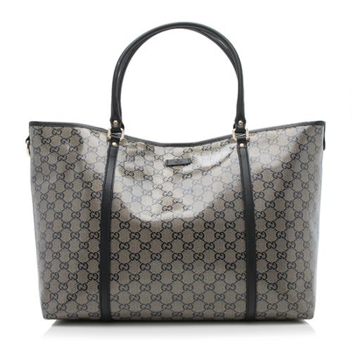 519455721df Gucci-Glitter-GG-Crystal-Joy-Large-Tote 94739 front large 0.jpg