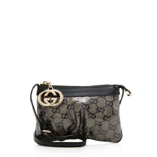 Gucci Glitter GG Crystal Small Crossbody