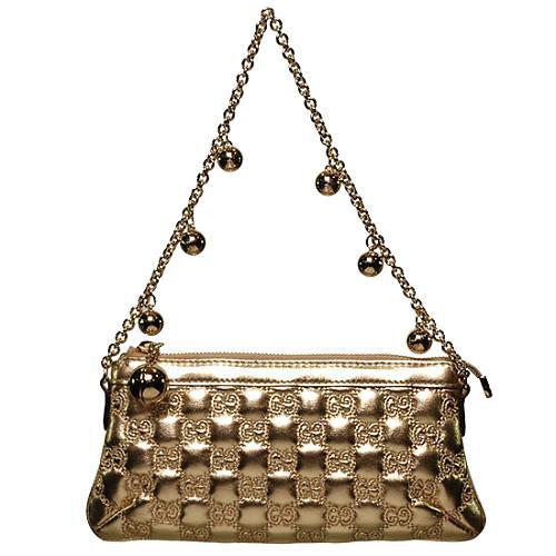 Gucci Gold Evening Handbag