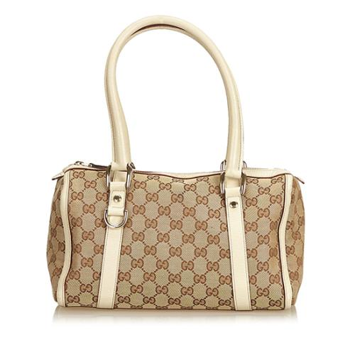 Gucci GG Canvas Abbey Boston Bag