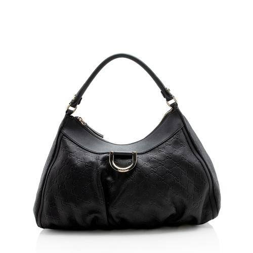 Gucci Guccissima D Ring Large Hobo