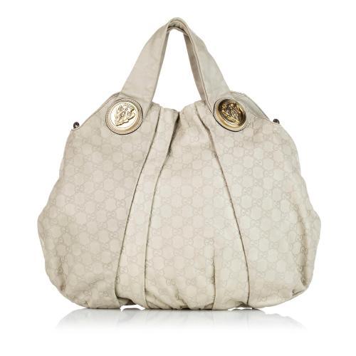 Gucci Guccissima Hysteria Tote Bag