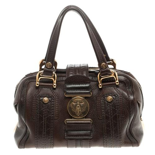 Gucci Guccissima Aviatrix Medium Boston Satchel