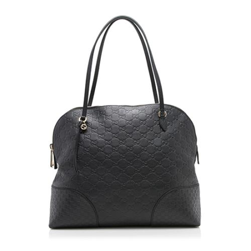 Gucci Guccissima Leather Bree Dome Tote