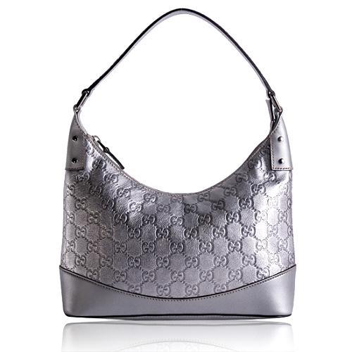 Gucci Guccissima Leather Colbert Shoulder Handbag