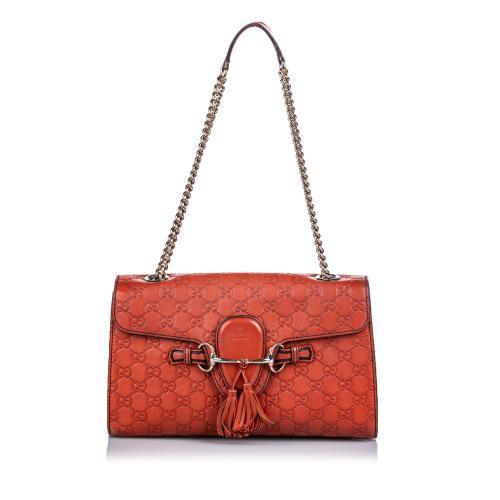 Gucci Guccissima Leather Emily Shoulder Bag