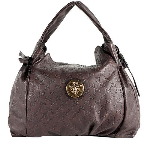 5f93ce21984 Gucci-Guccissima-Leather-Hysteria-Hobo 59073 front large 1.jpg