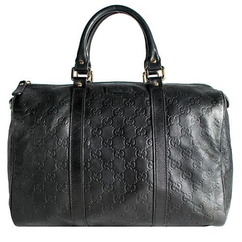 Gucci Guccissima Leather Joy Boston Satchel Handbag