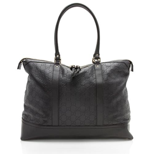 Gucci Guccissima Leather Large Tote