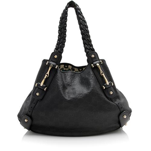 Gucci Guccissima Leather Pelham Medium Shoulder Bag