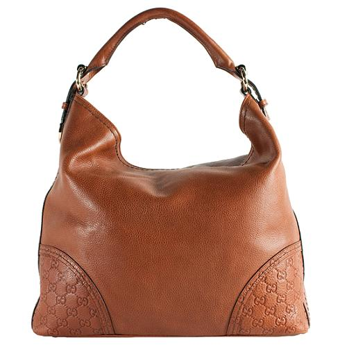 d1d1e8d7f0ba Gucci Guccissima Leather 'Signoria' Large Hobo Handbag