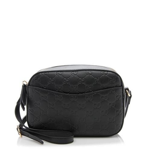 Gucci Guccissima Leather Small Camera Bag