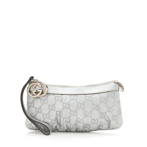 Gucci Guccissima Leather Sukey Charm Wristlet