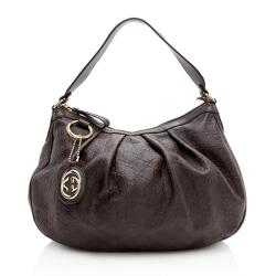 Gucci Guccissima Leather Sukey Hobo