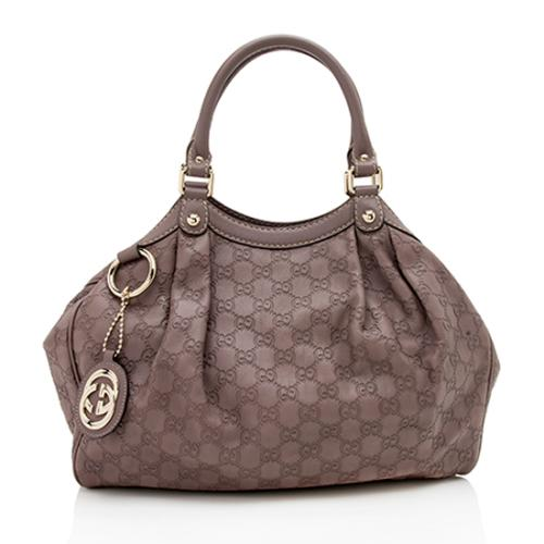 Gucci Guccissima Leather Sukey Medium Tote