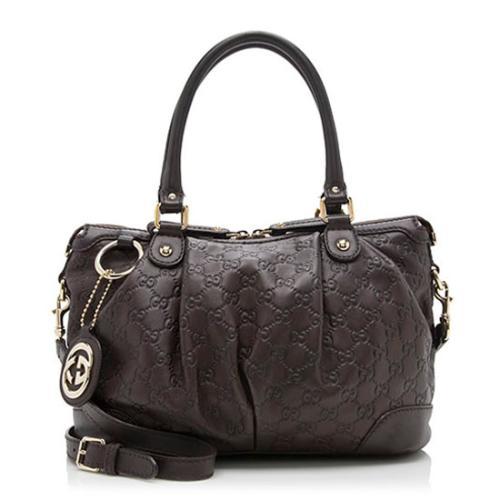 Gucci Guccissima Leather Sukey Satchel - FINAL SALE