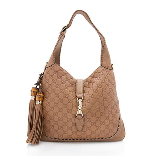 Gucci Guccissima New Jackie Shoulder Bag