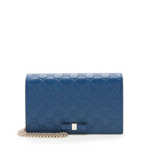 82f6c94976f Gucci Guccissima Signature Mini Bag