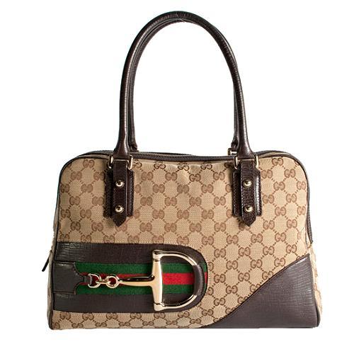 Gucci Hasler Medium Top Handle Tote