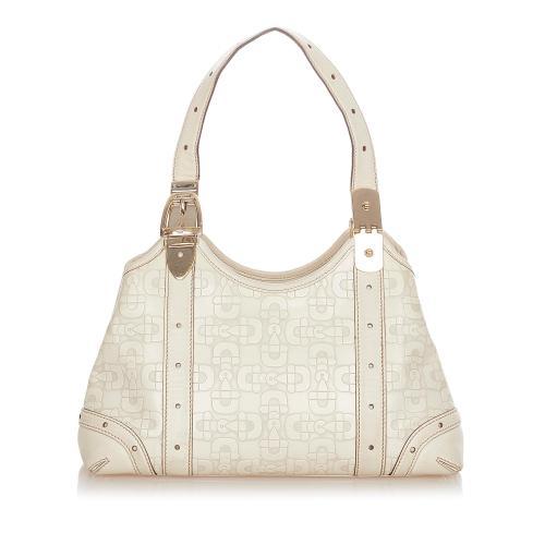 Gucci Horsebit Leather Shoulder Bag