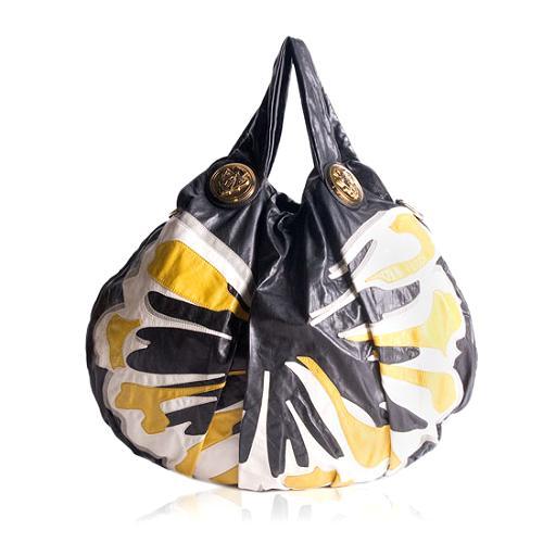 Gucci Hysteria Graphic Print Hobo Handbag
