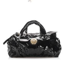 Gucci Patent Leather Hysteria Satchel