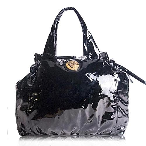 Gucci Hysteria Patent Leather Tote