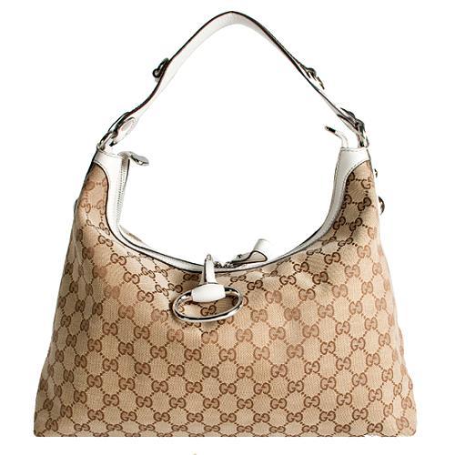 Gucci Icon Bit Medium Hobo Handbag