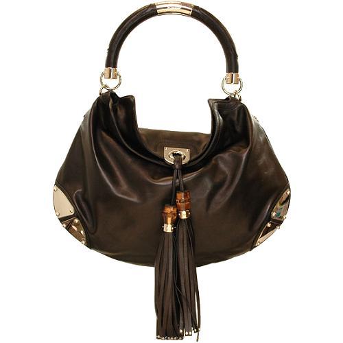 Gucci Indy Top Handle Handbag