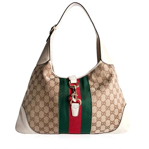 Gucci Jackie O Bouvier Medium Hobo Handbag