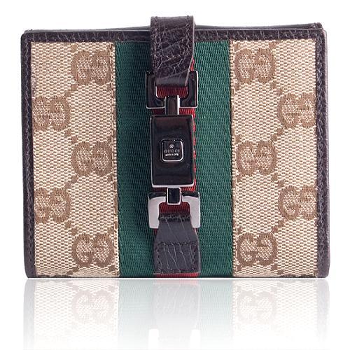 56ba6bfbe47 Gucci  Jackie O  Wallet