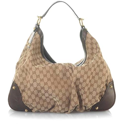Gucci Jockey Large Hobo Handbag ... 45e341e31c73a