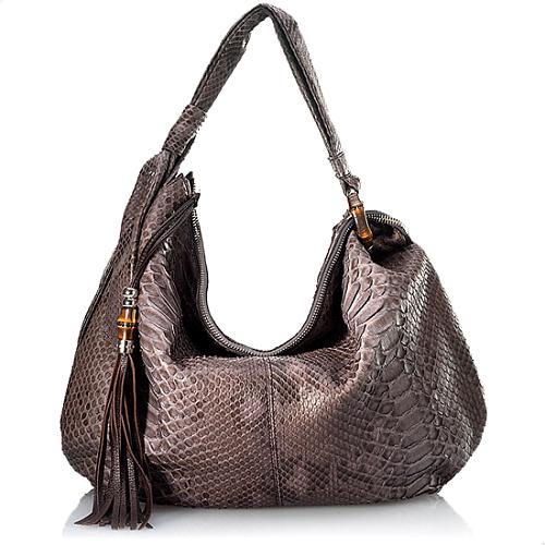 Gucci Jungle Large Hobo Handbag