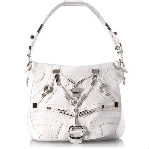 Gucci Large Techno Horsebit Shoulder Flap Handbag