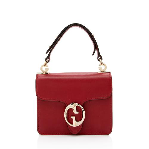 Gucci Leather 1973 Small Top Handle Satchel