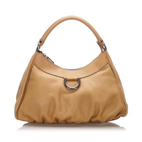 Gucci Leather Abbey D-Ring Shoulder Bag