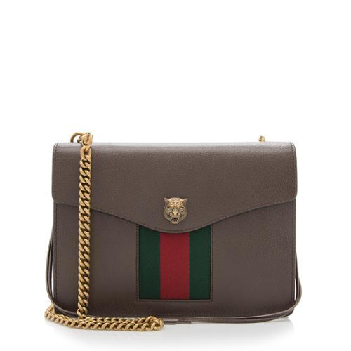 Gucci Leather Animaliar Chain Bag 94486d5382076