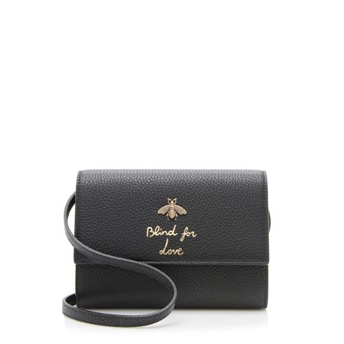 19a5d0ce9a8b Gucci-Leather-Animalier-Bee-Wallet-Bag_95800_front_large_1.jpg