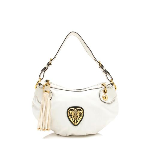 Gucci Leather Babouska Small Hobo