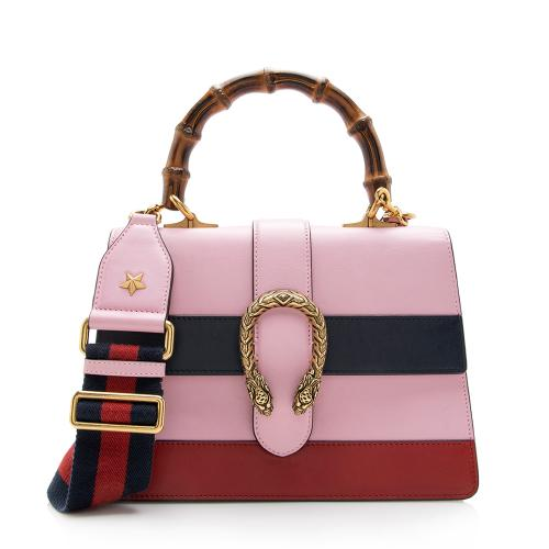 Gucci Leather Bamboo Dionysus Top Handle Satchel
