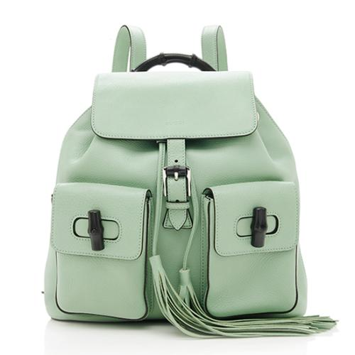3d82822feee Gucci-Leather-Bamboo-Sac-Backpack 74522 front large 0.jpg