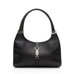 Gucci Leather Bardot Small Shoulder Bag